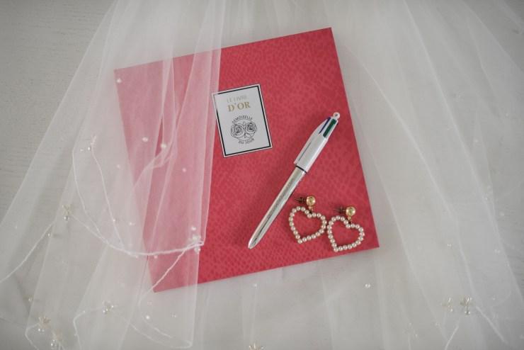 Livre d'or mariage Demoiselle du Jour