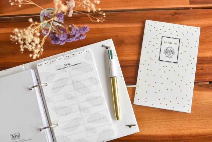 planning organisation mariage