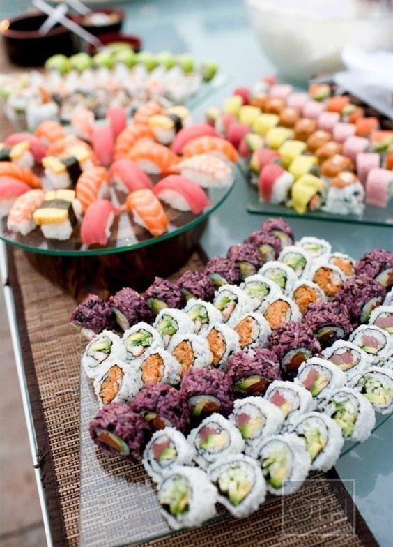 Bars à thème sushi mariage