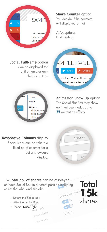 Social Share & Locker Pro WordPress Plugin - 5
