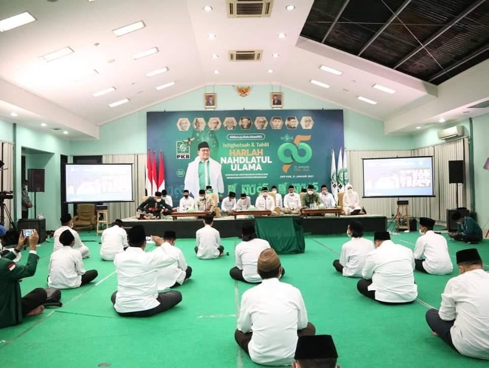 Harlah NU ke-95, DPP PKB Gelar Istighotsah & Tahlilan Bersama
