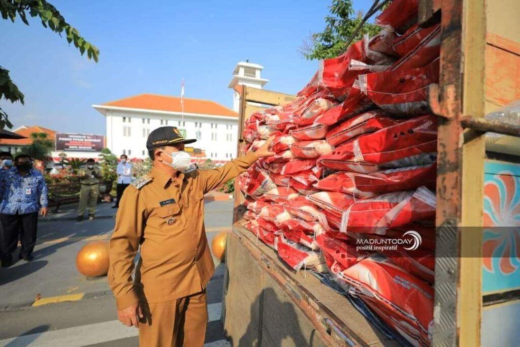Ada Beragam Bantuan, Wali Kota: Tidak Ada yang Kesusahan Makan di Kota Madiun