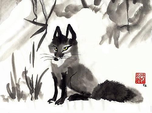 hyakujo-fox
