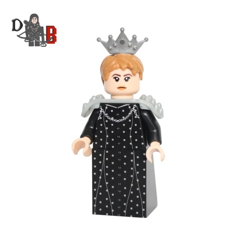 Custom Game of Thrones Queen Cersei Lannister S6 Minifigure made using LEGO and custom parts