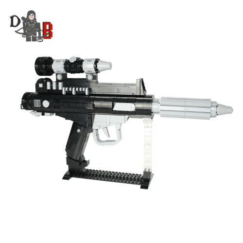 Star Wars Custom DH-17 Battlefront Rebel Blaster Pistol made using LEGO parts