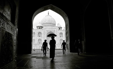 Taj Mahal - India by Christophe Paquignon