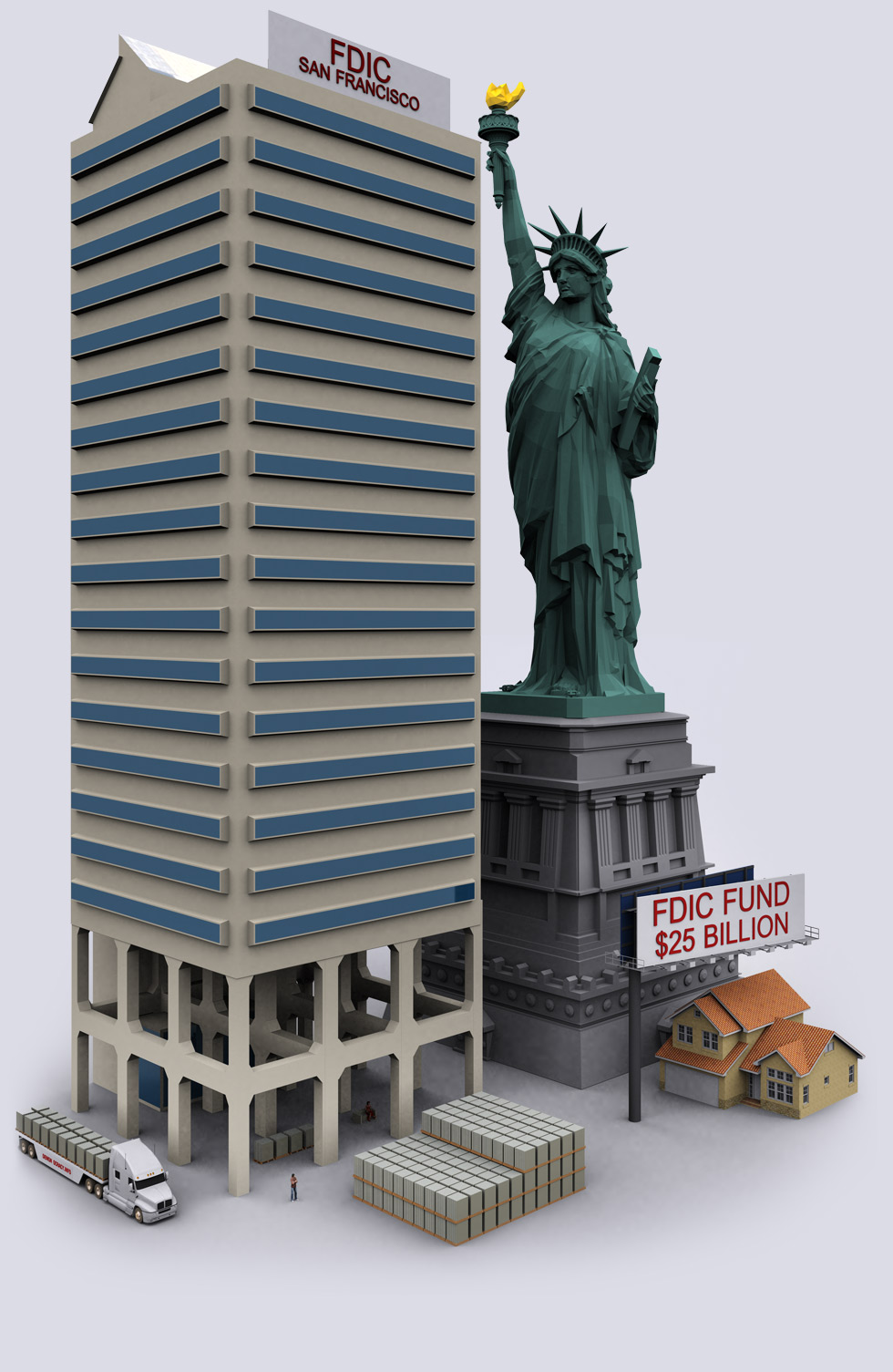FDIC Insurance Deposit Fund - $25 Billion