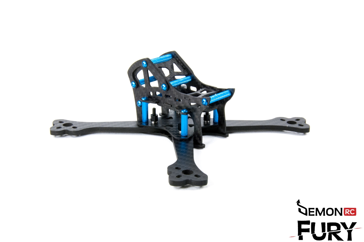 Drc Fury 4x Super Light Racing Acro Frame Kit