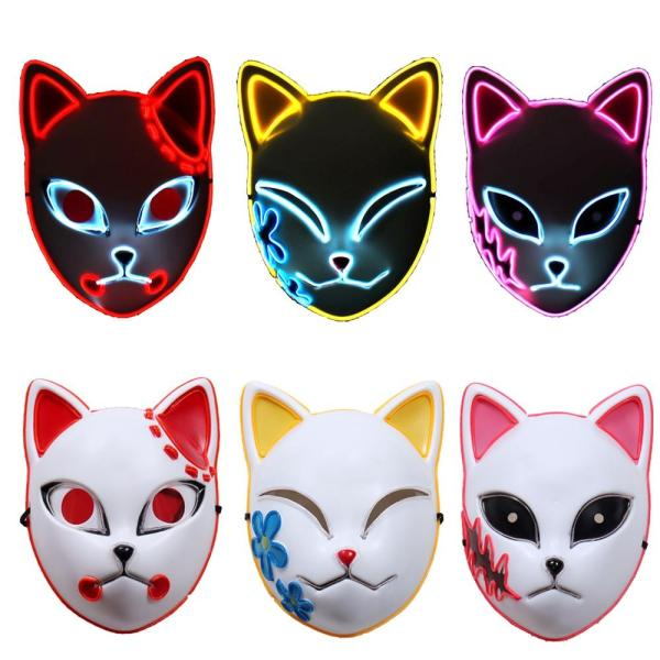 Demon Slayer Led Masks