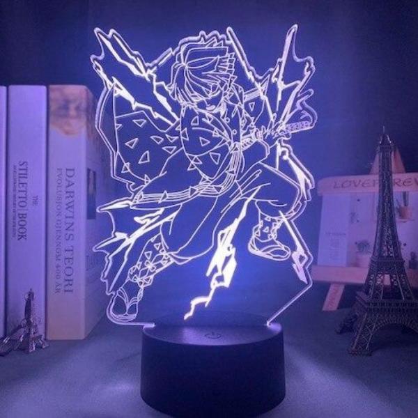 Zenitsu Lamp - Demon Slayer Merch