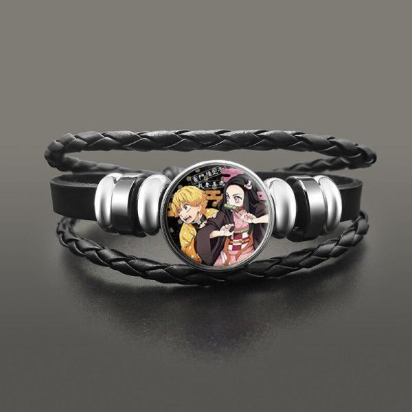 Zenitsu & Nezuko Bracelet - Demon Slayer Merch