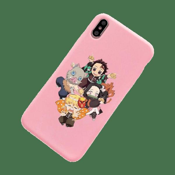 kny pink phone case - Demon Slayer Merch