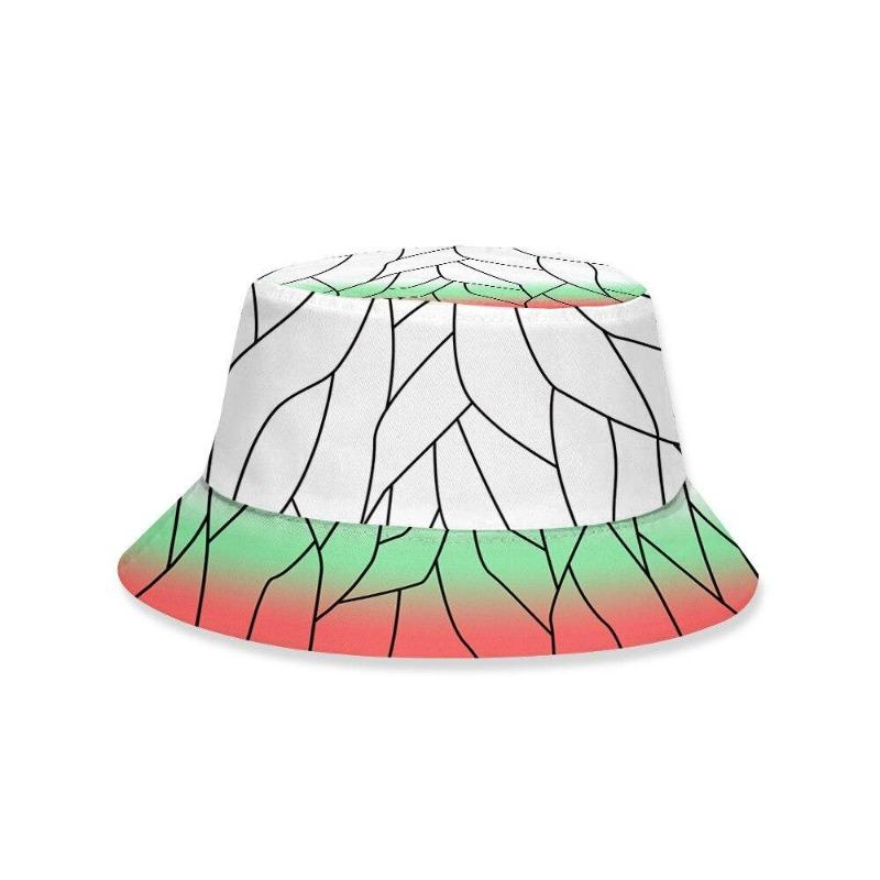 Shinobu Pattern Bucket Hat