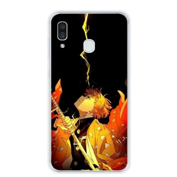 Zenitsu Focus Samsung Phone Case | Demon Slayer Merch