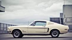 Pascal & his Ford Mustang Fastback 1968