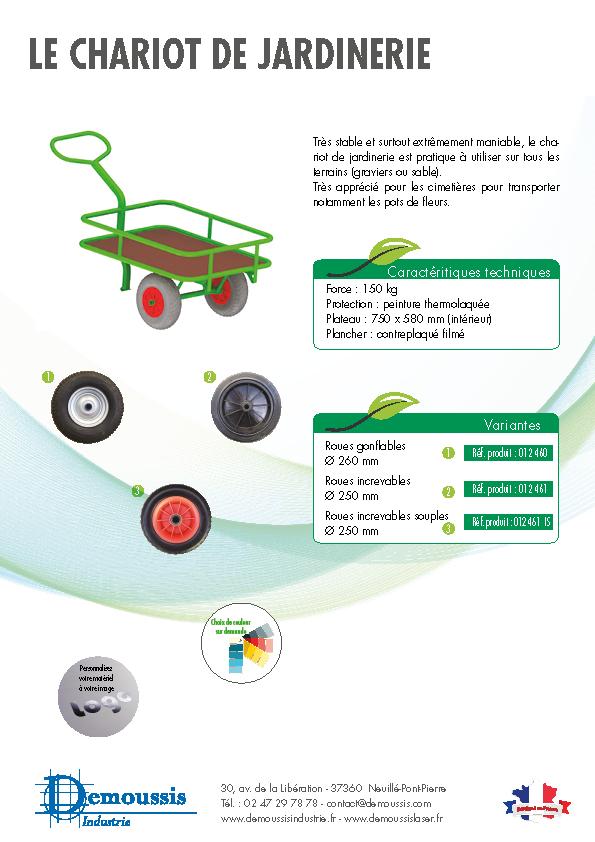 Le chariot de Jardinerie