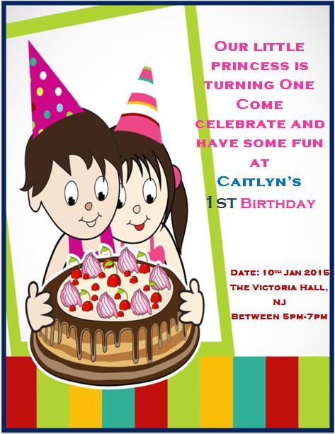 1st birthday invitaion template-2