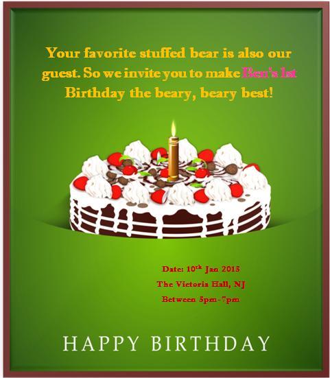 1st birthday invitaion template-9