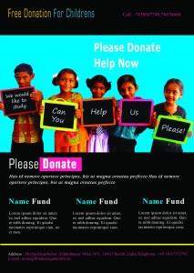 Donation_Flyer_Template 1  Donation Flyer Template