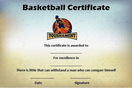 27 Professional Basketball Certificate Templates   Free Printable     Basketball mythical 5 certificate