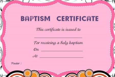 free editable baptism certificate template download our new free templates collection our battle tested template designs are proven to land interviews