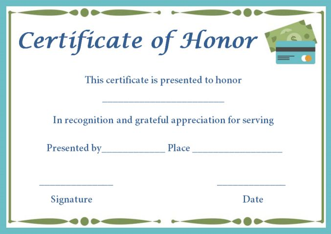 Silent Auction Certificates 18 Official And Beautiful