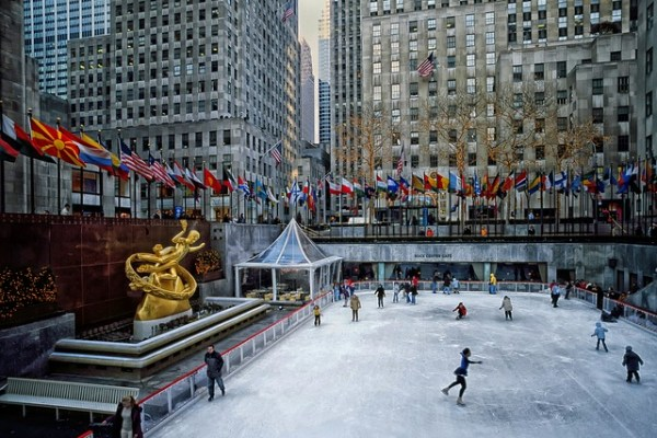 new york - rockefeller plaza - coupon feed