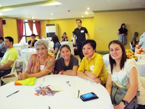 Some participants came all the way from Bataan!