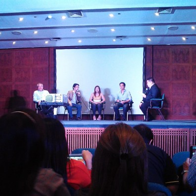 Panel discussion with Entrep Champs.