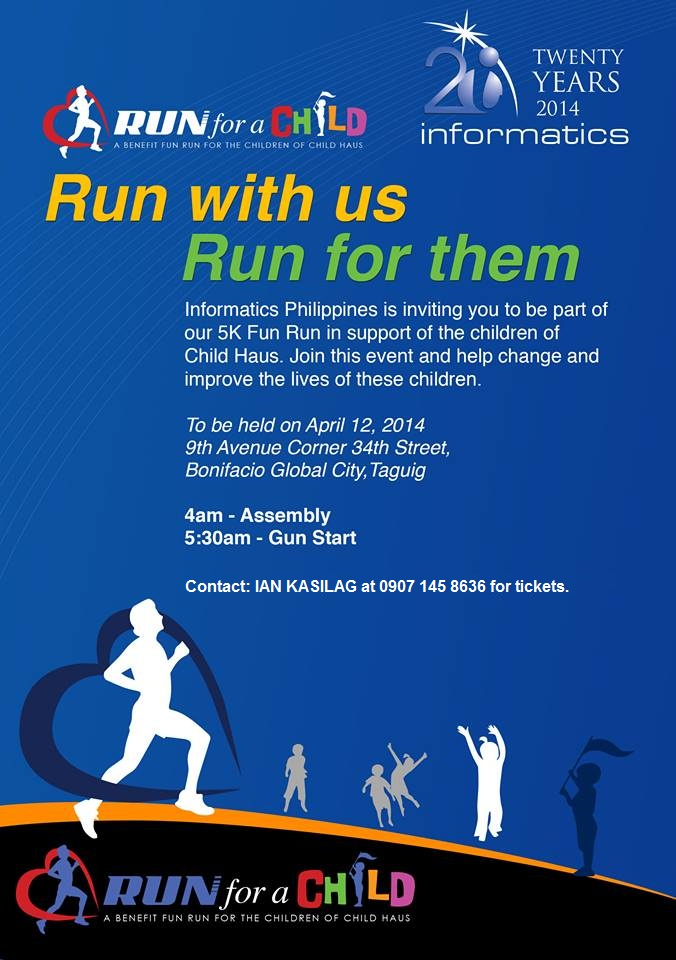 Run for the children of CHILD Haus!