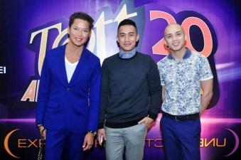 Dong Ronquillo, Dan Mejia, Mic Coson