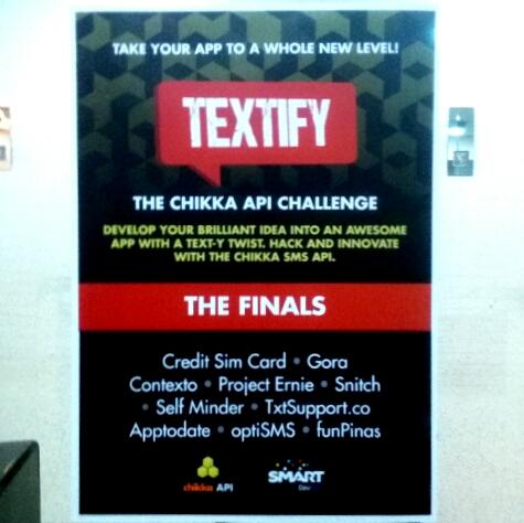 TEXTIFY: The Chikka API Challenge!
