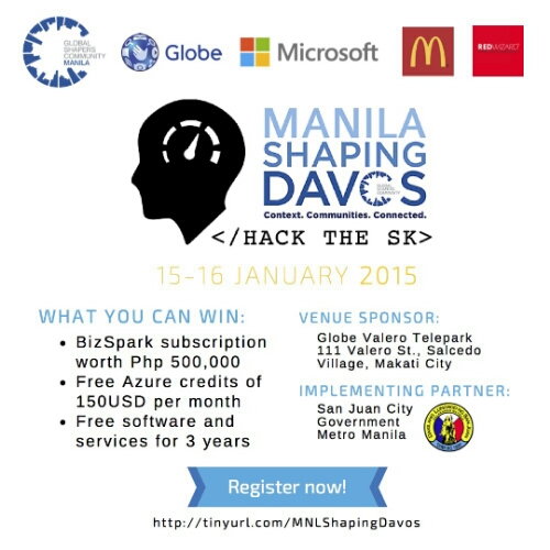 Call for Participants: #MNLShapingDavos