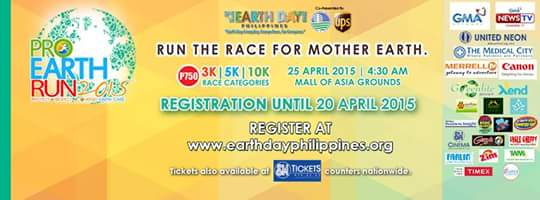 PRO EARTH RUN 2015: Run the Race for Mother Earth