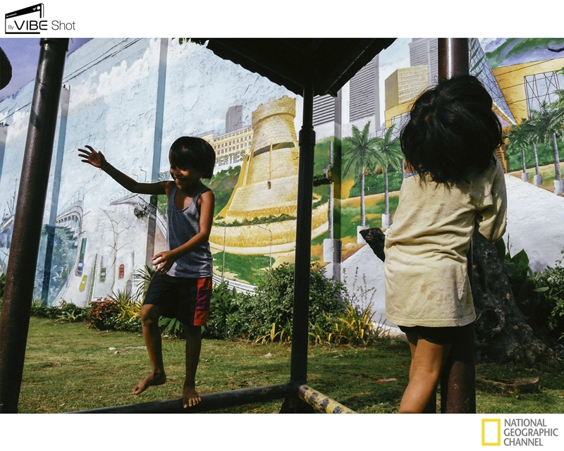 Children at Play Cebu Photo by Hannah Reyes taken with the Lenovo VIBE Shot