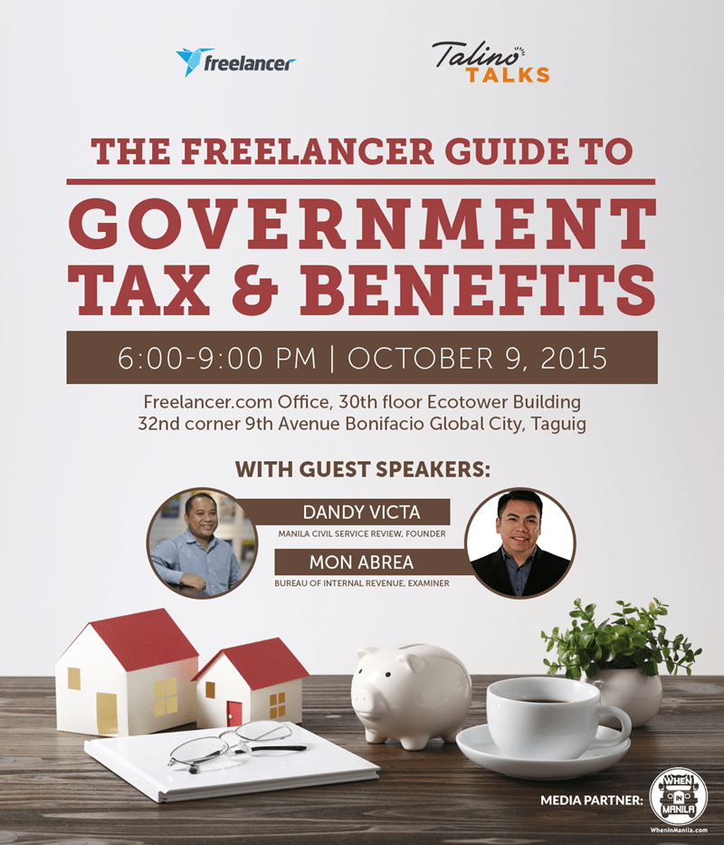 [Workshop] The Pinoy Freelancer's Guide to Taxes & Benefits