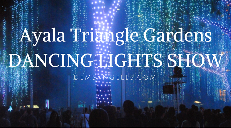 Ayala Triangle Gardens Festival of Lights 2016
