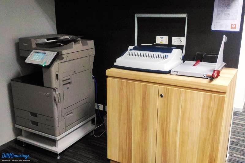 Compass Offices BGC shared equipment