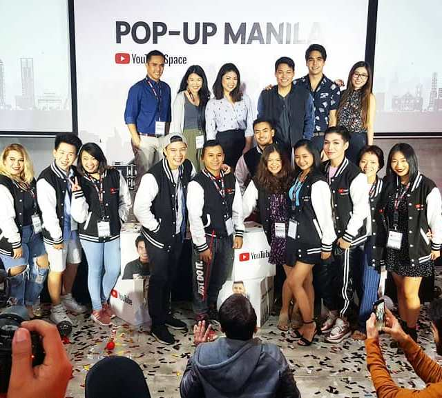 YouTubeSpaceMNL launch with the 1st YouTubeNextUp PH winners
