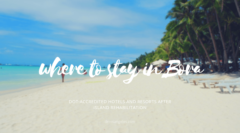 Where to (legally) stay in Boracay.