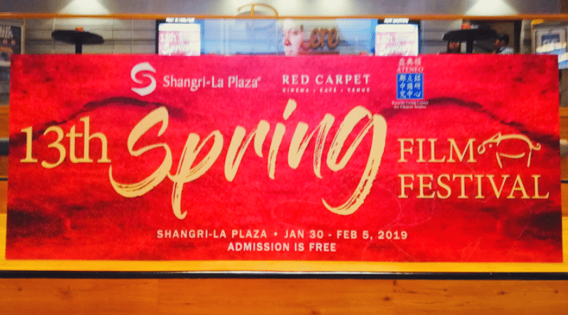 13th Spring Film Festival, Red Carpet, Shangri-La Plaza