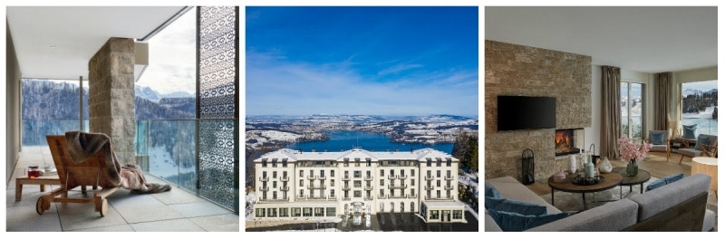 Bürgenstock Hotels Switzerland Private Residence Suites