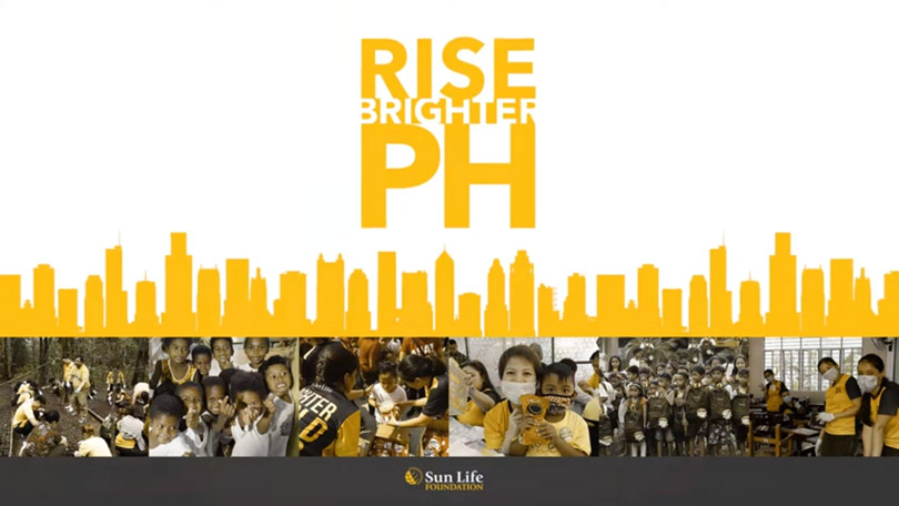 Rise Brighter PH: Sun Life Foundation's COVID-19 Pandemic CSR Banks On Sustainable Recovery Programs