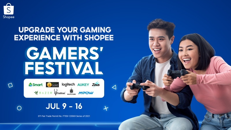 Shopee Partners with Top Brands to Level Up the Gaming Experience For Everyone
