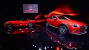 Mazda CX-3 Crossover y el MX-5 Miata