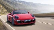 Porsche cabriolet GTS