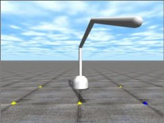 3DOF Robot Arm Simulator, Open Dynamics Engine