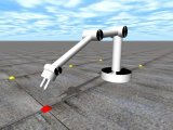 Open Dynamics Engine: A 3DOF Robot Arm