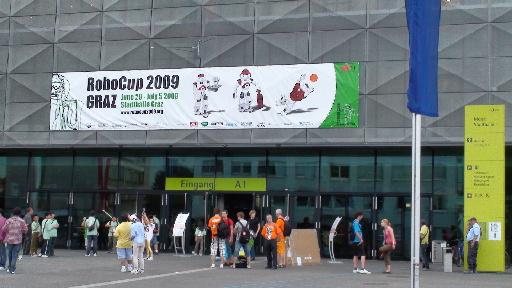RoboCup2009 Graz 会場