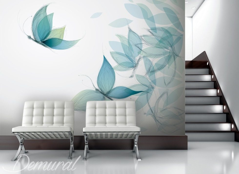 Gaudy As A Butterfly Animals Wallpaper Mural Photo